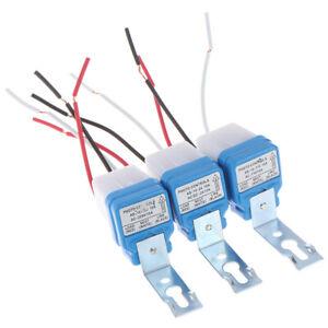 AC 24V 110V 220V Auto Street Light Switch Night On Day Off Sensor Switche_SI