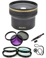 40.5mm Pro 0.17x Super Fisheye, 7 Filters ++ for Nikon 1 J1 J2 V1 V2 S1 J3
