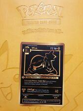 Pokemon Base 1st Muk Gold LUXURY CARD custom card Christmas gift