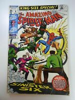Amazing Spider-man Annual #6, VG- 3.5, 1st Appearance Sinister Six Reprint