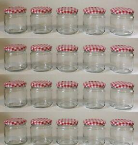 20 x  Einmachglas, Einkochglas 210 ml, rund mit Schraubdeckel