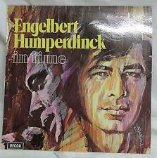 RECORD - ENGELBERT HUMPERDINCK - IN TIME - GREAT CONDITION