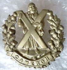 Badge- Cameron Highlanders British Army Military Badge WM (Org*)