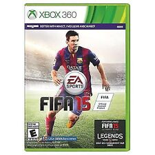 FIFA 15 (Xbox 360) Brand New sealed ships NEXT DAY W CASE & GAME