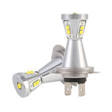 2pcs H7 CREE LED Fog Light 90W Car SUV ATV 6000K Signal Reading Door DRL Lamp