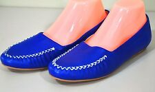 Trotters Mila Nappa Leather Loafer Shoes - Women's Flats Royal Blue Size 7.5 M
