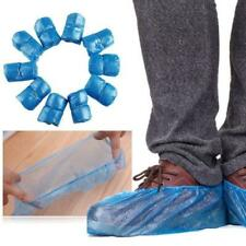 95x Waterproof Boot Cover Plastic Disposable Shoe Covers Overshoes Protective J