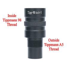 New Paintball Barrel Adapter - Tippmann 98 to Tippmann A5, Tippmann X7, BT-4