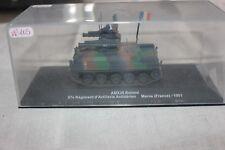 N°105 VÉHICULE MILITAIRE AMX 30 ROLAND 57 REGT D ARTILLERIE MARNE ( france )1991