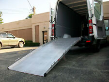 "10' x 36"" Rear/Side Door Van Ramp Wheelchair or Scooter Ramp 750 lb Capacity"