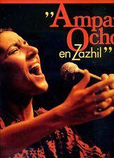 AMPARO OCHOA en zazhil HOLLAND EX LP RARE 1986 mexican folk