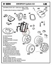 Verlinden 1/35 M4A1(76)W M4A3(75)W Sherman Update Kit (for Tamiya / Italeri) 204