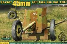 Ace - 45mm 45 mm at Anti Tank mod. 1937 - 1:72 modelo-kit nuevo rara vez kit Pak