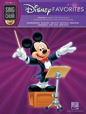 Sing With The Choir Disney Favorites Lion King Aladdin Music Book 7 & CD