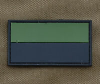 """PVC / Rubber Patch """"Polish Subdued Flag"""" with VELCRO® brand hook"""