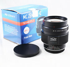 Zenit MC Zenitar-C S 50mm f/1.2 Lens for Canon EOS EF mount APS-C 80D 100D 750D