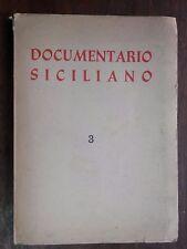 DOCUMENTARIO SICILIANO N 3 1956 Acquedotti in Sicilia Giovanni Jamiceli Giunta
