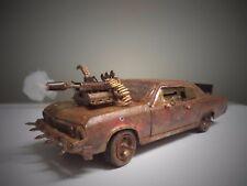 """Death Race"" Chevy Chevelle SS 396 Mad Max 1/18 ZOMBIE Killer Junker Junkyard Ut"