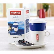 Rombouts Decaffeinated One Cup Filters Filter Coffee (6 x 10)