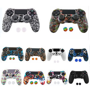 PS4 Controller Soft Silicone Cover Thick Skin Rubber Grip Anti Slip Case Protect