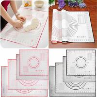 6 Sizes Non Stick Silicone Pad Mat Sheet Cake Pastry Dough Bakeware Baking Tools