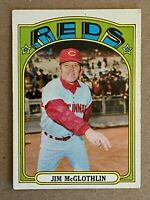Topps 1972 #236 Jim McGlothlin - Cincinnati Reds