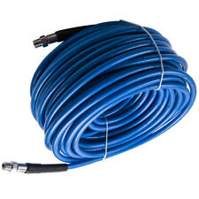 100ft Blue Carpet Cleaning Truck Mount Wand Solution Hose 3000 Psi New