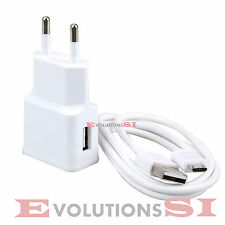CARGADOR DE MOVIL + CABLE DE DATOS PARA SONY XPERIA M2 M4 AQUA