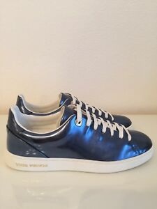 Louis Vuitton Frontrow Sneakers Blue Size 36 New Leather shoes