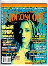 VIDEOSCOPE Horror Magazine #42 HORROR Sci-Fi ASIAN CULT CINEMA H.G. Lewis 2002