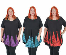 Rayon Machine Washable Casual Plus Size Tops for Women