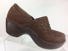 Ariat Clogs Strathmore Brown Nursing Professional Working Shoes Womens 6 B