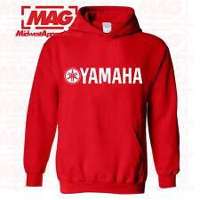 YAMAHA RACING HOODIE RED Hooded Sweatshirt YZF R1 R6 YFZ BANSHEE Moto Factory