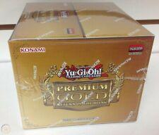 Yu-Gi-Oh Premium Gold Return of the Bling Booster Case 5x Mini boxes PGL2 1st Ed