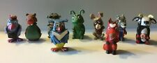 vintage toy pvc figures Very Rare The Daily Fable 1968 X9 .