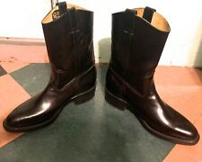 Vintage 1970'S/80'S Black Leather Chippewa Unisex Made In Usa Boots - 10 D
