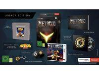 Metroid: Samus Returns - Legacy Edition [Nintendo 3DS, PAL, Steelbook, Pin] NEW