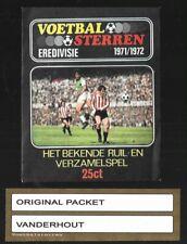 1971 Closed Vanderhout Zakje / Packet / Tüte VOETBALSTERREN 71/72