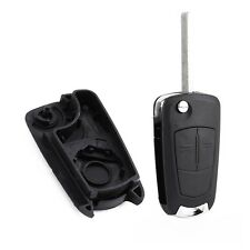 2 Button Remote Flip Key Case For Vauxhall Opel Corsa Astra Vectra Zafira #E