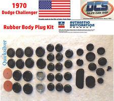 1970 Dodge Challenger Body Plug Kit New MoPar