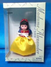 "New ListingMadame Alexander Snow White 8"", Doll Storyland/ New In Box,"