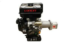 Loncin 15HP G420FQ Engine, 89.1 L/Min at 3000 PSI, with 2 Stage Pump