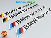 4 Adesivi BMW Motorrad Stickers 1200 1250 GS casco logo vinile moto pegatinas