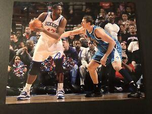 Elton Brand Signed Autographed 8x10 Photo Auto 76ers Clippers Duke COA PROOF