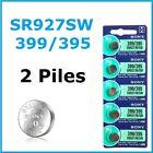 2 PILES SR927SW / SR927 / 395 / 399 / 1,55V SONY / ENVOI RAPIDE