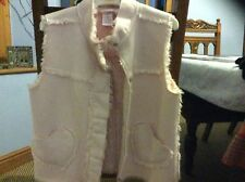 Cosy Funky Hippy Boho Pink Faux Fur Sheepskin Jacket from Gymboree age 6 years