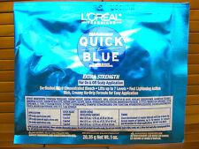 L'OREAL QUICK BLUE highlighting HAIR BLEACH POWDER