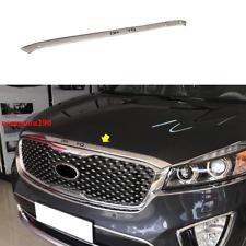 For Kia Sorento 2016-2020 ABS Chrome Front Hood Bonnet Lip Molding Cover Trim