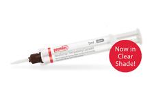 Dental Nextemp Clear Temporary Resin Cement 5ml Automix Syringe 5 Tips Premier