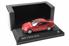 1:43 iScale BMW 4er 435i Coupe Melbourne red SP DEALER NEW bei PREMIUM-MODELCARS